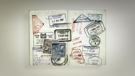 Passport Stamps 3