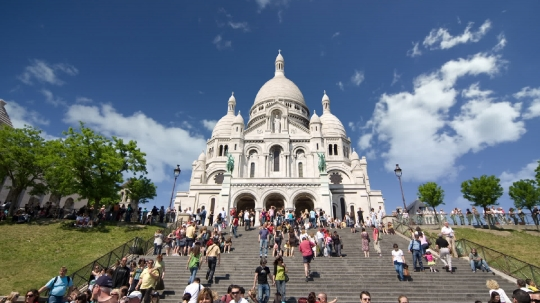 Sacre Coeur Clouds