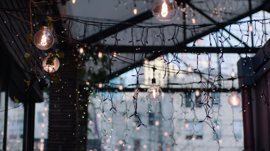 Fairy lights in Britomart
